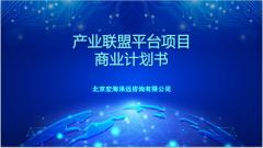 产业联盟平台项目商业计